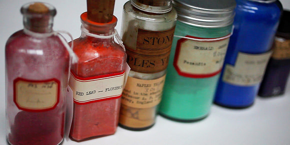 mare nostrum graficas pigmentos Harvard museo Fogg