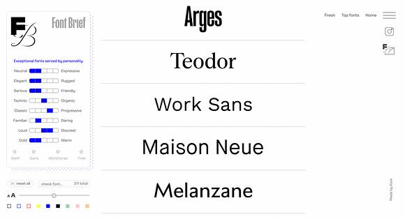 Mare Nostrum Gráficas Font Brief catalogo tipografico emociones
