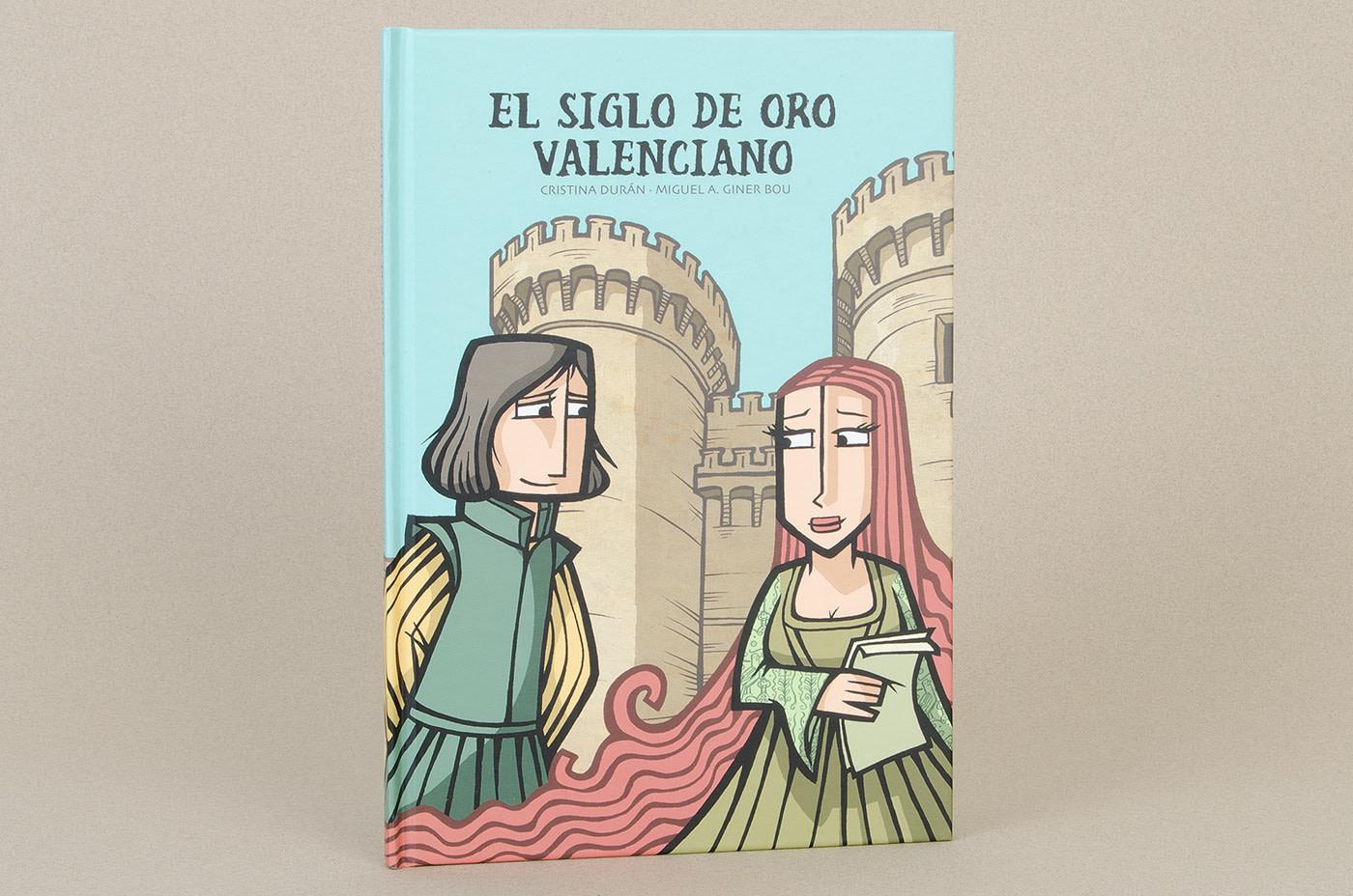 marenostrumgraficas libro El siglo de oro valenciano