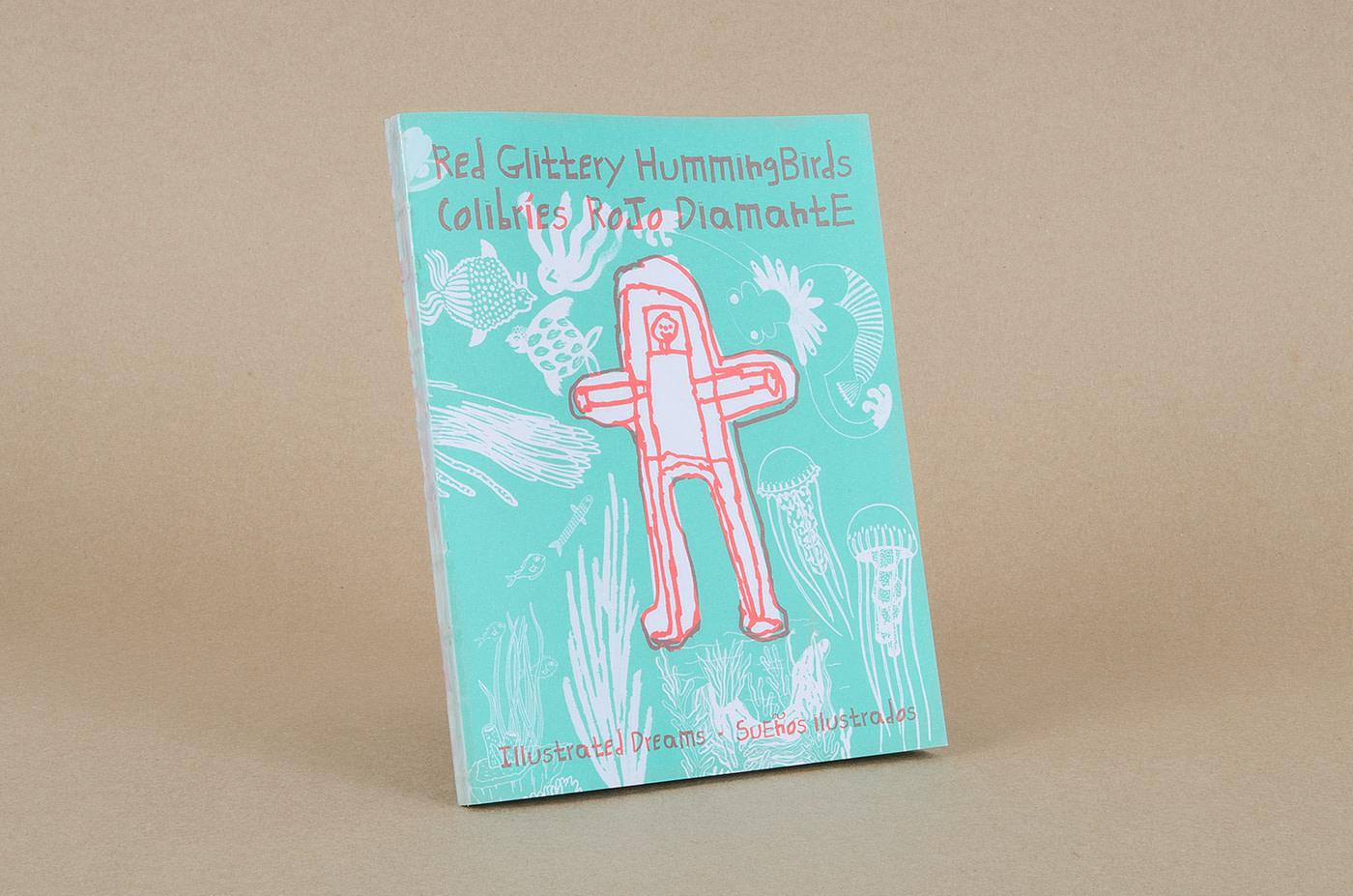 marenostrumgraficas libro Red Glittery Hummingbirds
