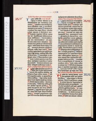 imprenta gutenberg biblia copia Oxford Vaticano